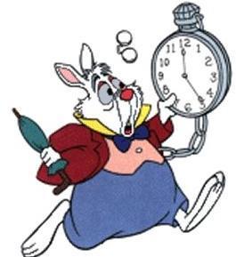 Les lapins dans les dessins anim s les petits lapins - Montre lapin alice au pays des merveilles ...