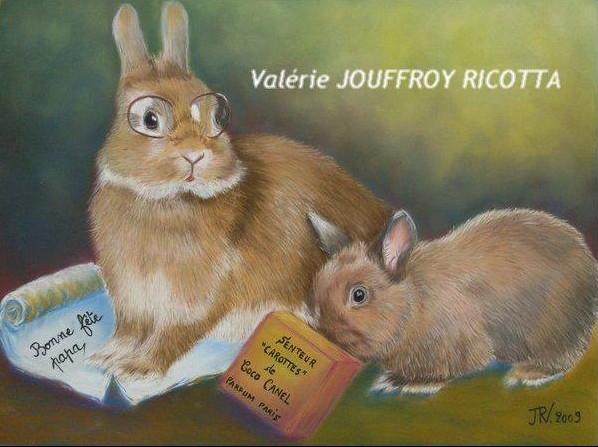 Les magnifiques dessins d'un joli lapin